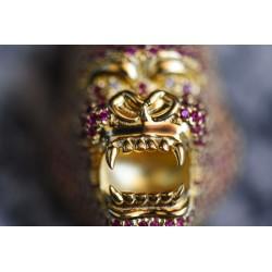 King Kong Gorilla gold 18kt